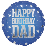 "18"" Super Star Dad Birthday"